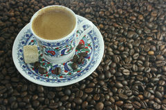 Cup with coffee Royalty Free Stock Photos