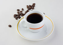 Cup of coffee. Good drink Royalty Free Stock Photography