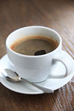 Cup of coffee. Cup of coffee on the table stock photos