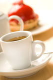 Cup of coffee. Close up picture of a cup of coffee Royalty Free Stock Image
