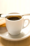 Cup of coffee. Close up picture of a cup of coffee Stock Photography