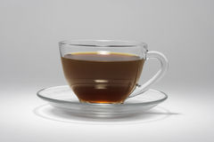 Cup of Coffee. On Seamless Background Royalty Free Stock Photo