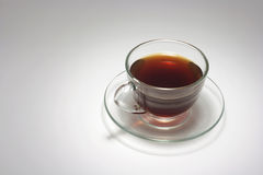 Cup of Coffee. On Seamless Background Royalty Free Stock Images