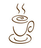 Cup of a coffee Royalty Free Stock Images