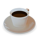 Cup coffee Stock Image
