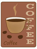 Cup of coffee. Illustration Stock Photography