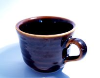 Cup of coffee 2. A cup of coffee Royalty Free Stock Image