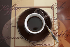 Cup coffee 2 Royalty Free Stock Photo