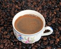 The cup of coffee Royalty Free Stock Photography