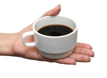 Cup from coffee Stock Images