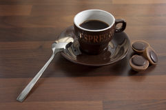 Cup coffee 4 Stock Images