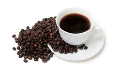 The cup of coffee royalty free stock image
