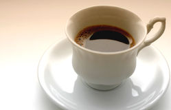 Cup of coffee. Cup of fresh coffee Royalty Free Stock Photo