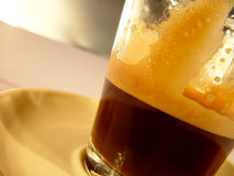 Cup of Coffee. Coffe in a Glas royalty free stock images