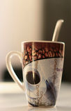 A cup of coffee? royalty free stock images