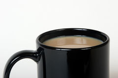 Cup of coffee. Clos-up of a cup of coffee Stock Photo