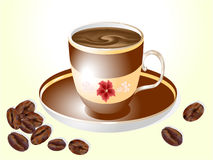 A cup of coffee Royalty Free Stock Photography