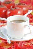 Autumn coffee Royalty Free Stock Image