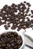 Cup of Coffee Bean Royalty Free Stock Image
