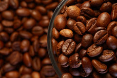 A cup of coffee bean Stock Photo