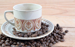The Cup of Coffee Royalty Free Stock Photo