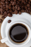 Cup of coffee. Royalty Free Stock Photo