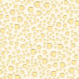 Cup of coffee on the beige background. Cup of coffee on the light beige background seamless pattern Royalty Free Stock Images