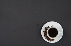 A cup of coffee. Royalty Free Stock Images