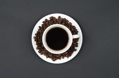 A cup of coffee. Royalty Free Stock Photos
