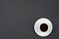 A cup of coffee. Stock Photos