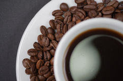 A cup of coffee. Stock Photo