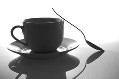 Cup of coffee for breakfast Royalty Free Stock Photos