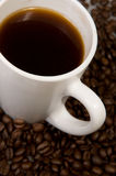 Cup with coffee, c Stock Image
