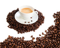 Cup of coffee cappuccino Royalty Free Stock Image