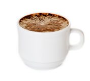 Cup of coffee cappuccino Royalty Free Stock Photo