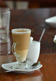 Cup of coffee. Coffee, cappuccino, latte and machiatto Royalty Free Stock Image
