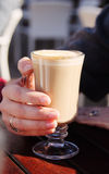 Cup of coffee cappuccino Stock Photography
