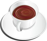 Cup of Coffee or Chocolate Royalty Free Stock Photos