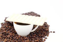 Cup with coffee Royalty Free Stock Photo