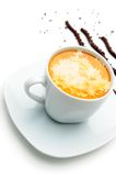 Cup of coffee and chocolate Royalty Free Stock Photos