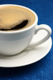 Cup of coffee close-up Royalty Free Stock Image