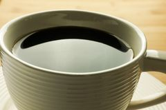 Cup of coffee  - close up Royalty Free Stock Photo