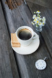 Cup of coffee. Coffee time Stock Images