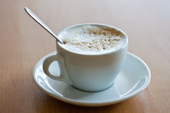 Cup of coffee with crema Royalty Free Stock Image