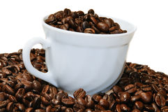 Cup with coffee crop Stock Image