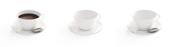 Cup coffee Royalty Free Stock Photos