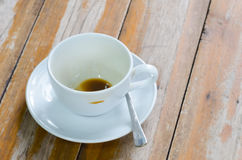 Cup and coffee Stock Photos
