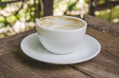 A cup of coffee, drink already Royalty Free Stock Image
