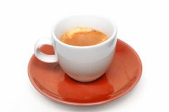 Cup of coffee - espresso Stock Photos