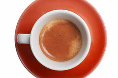 Cup of coffee - espresso Royalty Free Stock Photo